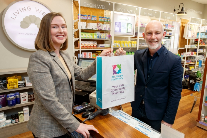 Allcare Pharmacy is now the official sponsor of The Ray D'Arcy